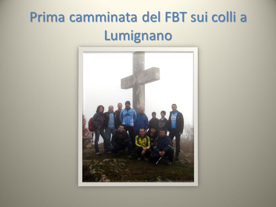 Prima camminata del FBT sui colli a Lumignano