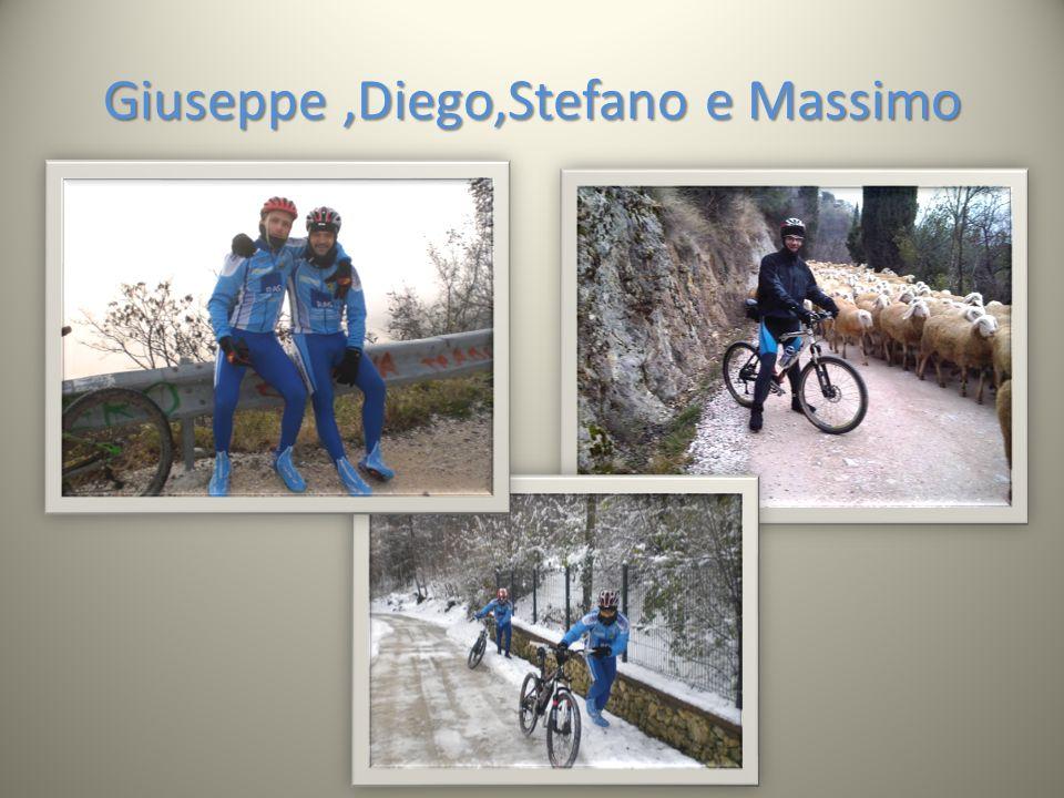 Giuseppe,Diego,Stefano e Massimo