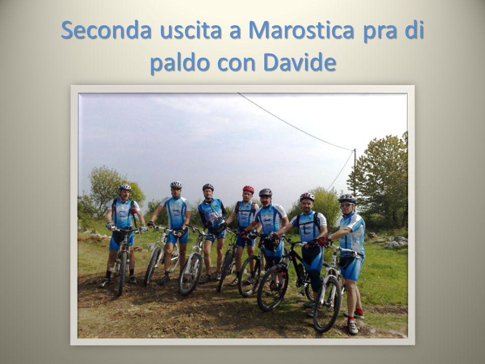 Seconda uscita a Marostica pra di paldo con Davide