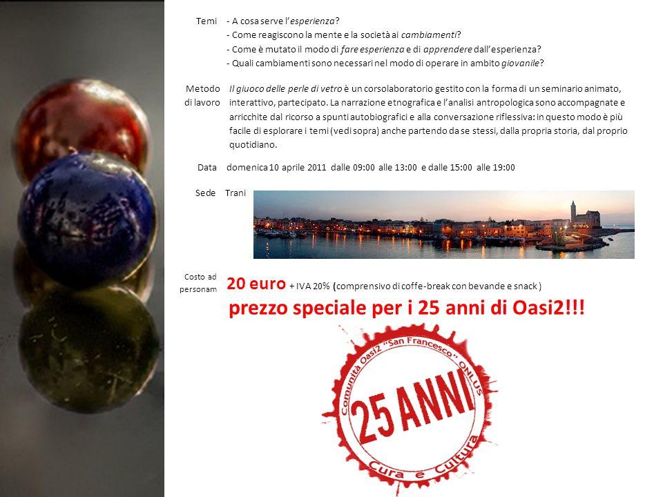 Faculty Progettazione e conduzione a cura di Felice Di Lernia.