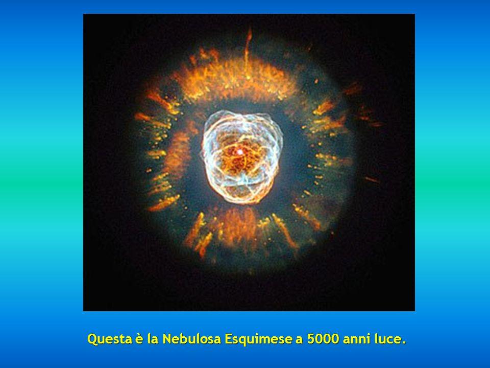 Questa è la Nebulosa Formica, così chiamata per la sua forma e posizionata tra 3000 e 6000 anni luce.