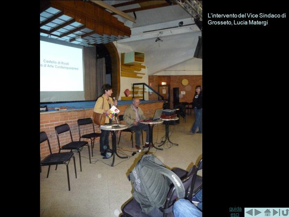 guida guida esciesci Lintervento del Vice Sindaco di Grosseto, Lucia Matergi