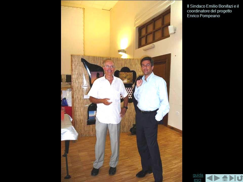guida guida esciesci Il Sindaco Emilio Bonifazi e il coordinatore del progetto Enrico Pompeano