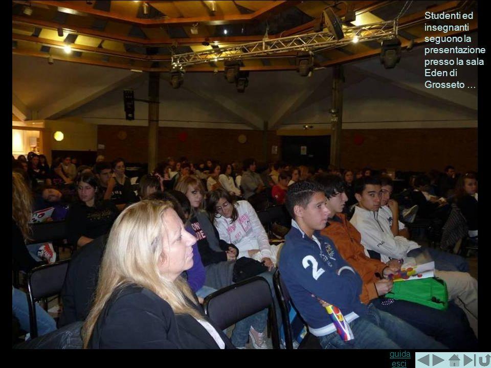 guida guida esciesci Studenti ed insegnanti seguono la presentazione presso la sala Eden di Grosseto …