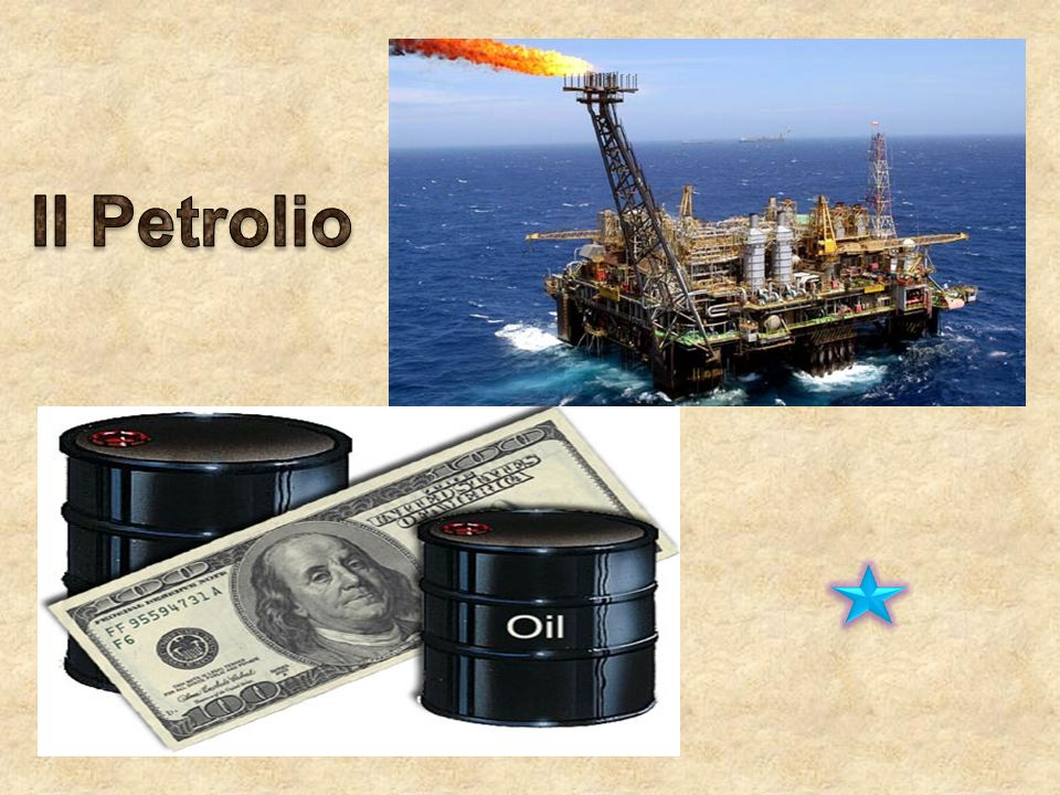 Il petrolio, anche detto Oro Nero è un liquido infiammabile, denso e di colore molto scuro, lo possiamo trovare in alcuni punti situati negli strati superiori della crosta terrestre; esso è formato da una mistura di Idrocarburi (costituiti da Carbonio e Idrogeno) più Metalli Pesanti.