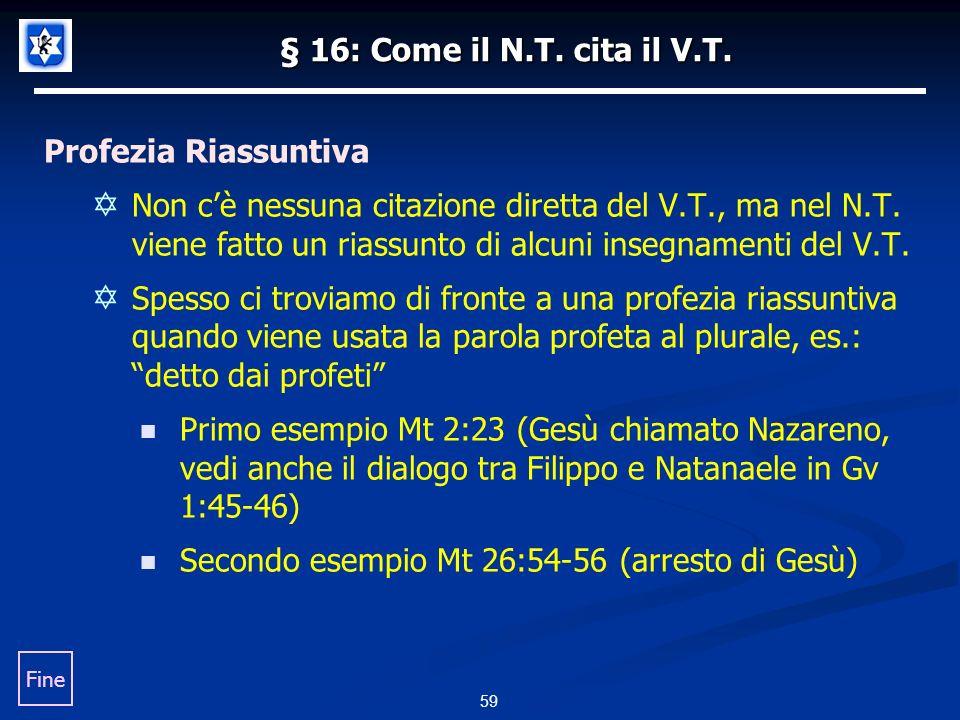 § 16: Come il N.T.cita il V.T.