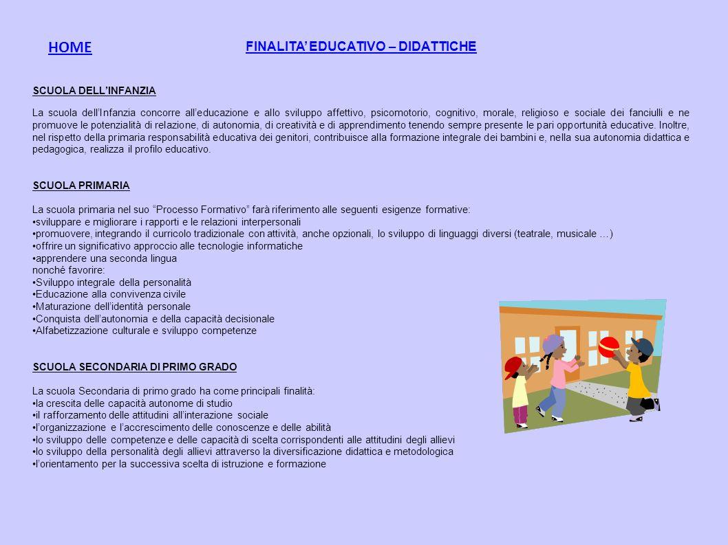FINALITA EDUCATIVO – DIDATTICHE SCUOLA DELLINFANZIA La scuola dellInfanzia concorre alleducazione e allo sviluppo affettivo, psicomotorio, cognitivo,