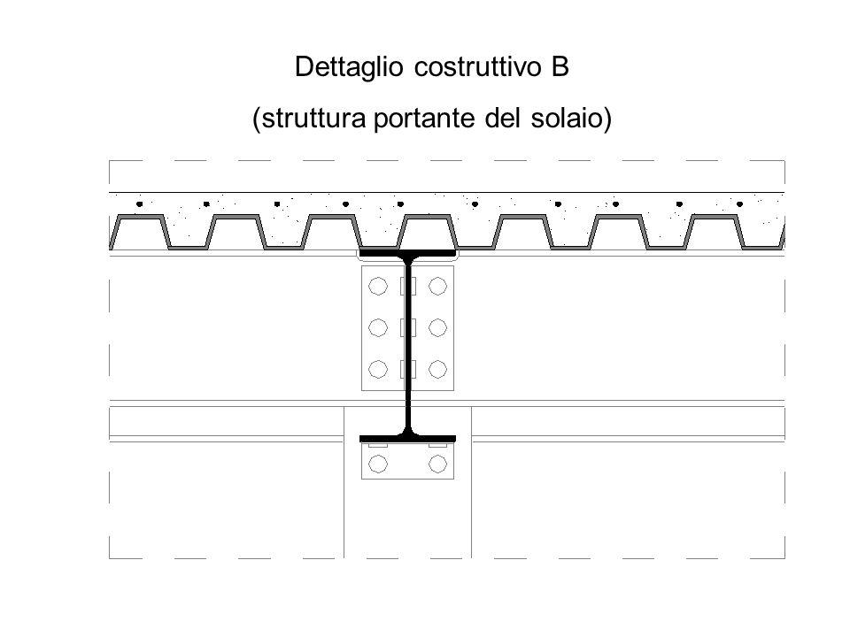 Dettaglio costruttivo B (struttura portante del solaio)