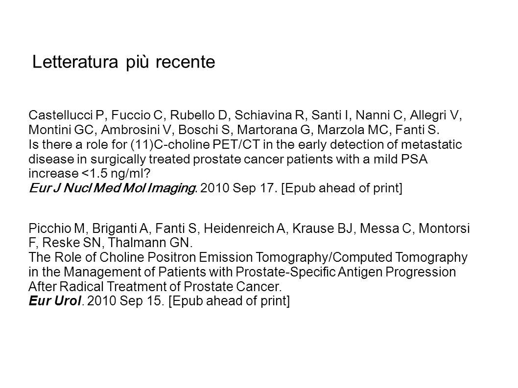 Picchio M, Briganti A, Fanti S, Heidenreich A, Krause BJ, Messa C, Montorsi F, Reske SN, Thalmann GN. The Role of Choline Positron Emission Tomography