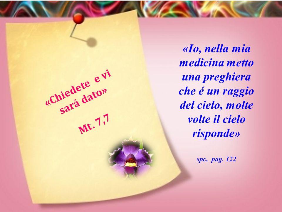 «La caritá copre la moltitudi ne dei peccati » 1. P. 4,8 «Suor Maria non si moveva dal letto dell'ammala to e passava una e altra volta la corona del