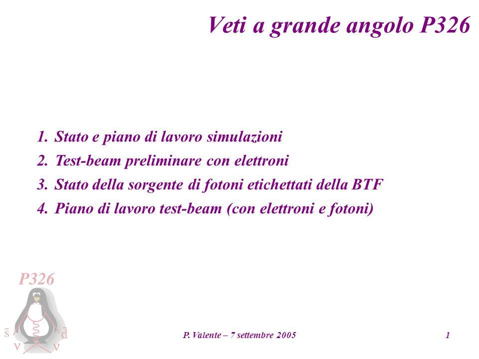 P.Valente – 7 settembre 20052 1.