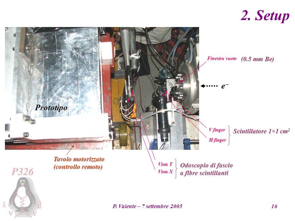 P. Valente – 7 settembre 200516 2.