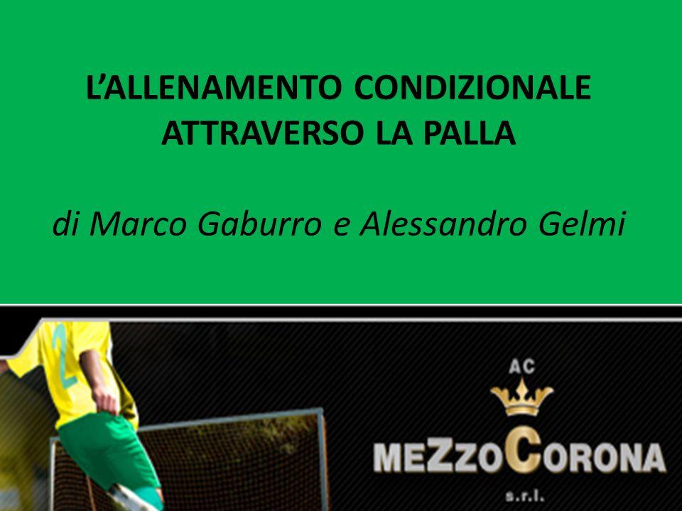 LALLENAMENTO CONDIZIONALE ATTRAVERSO LA PALLA di Marco Gaburro e Alessandro Gelmi