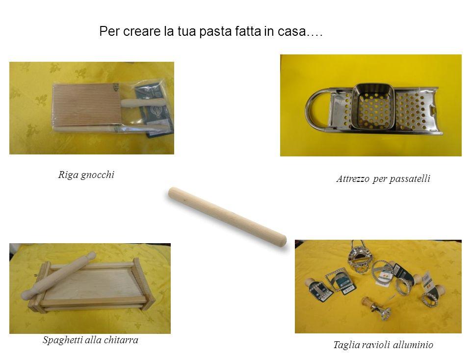Spaghetti alla chitarra Per creare la tua pasta fatta in casa….