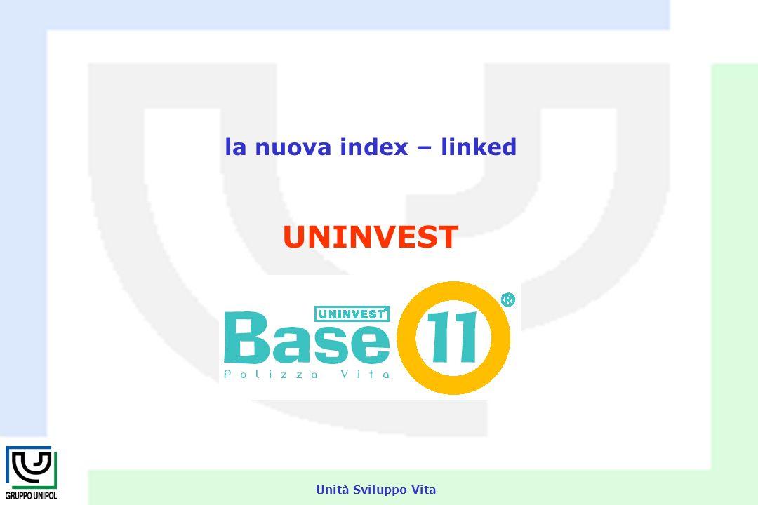 Unità Sviluppo Vita la nuova index – linked UNINVEST
