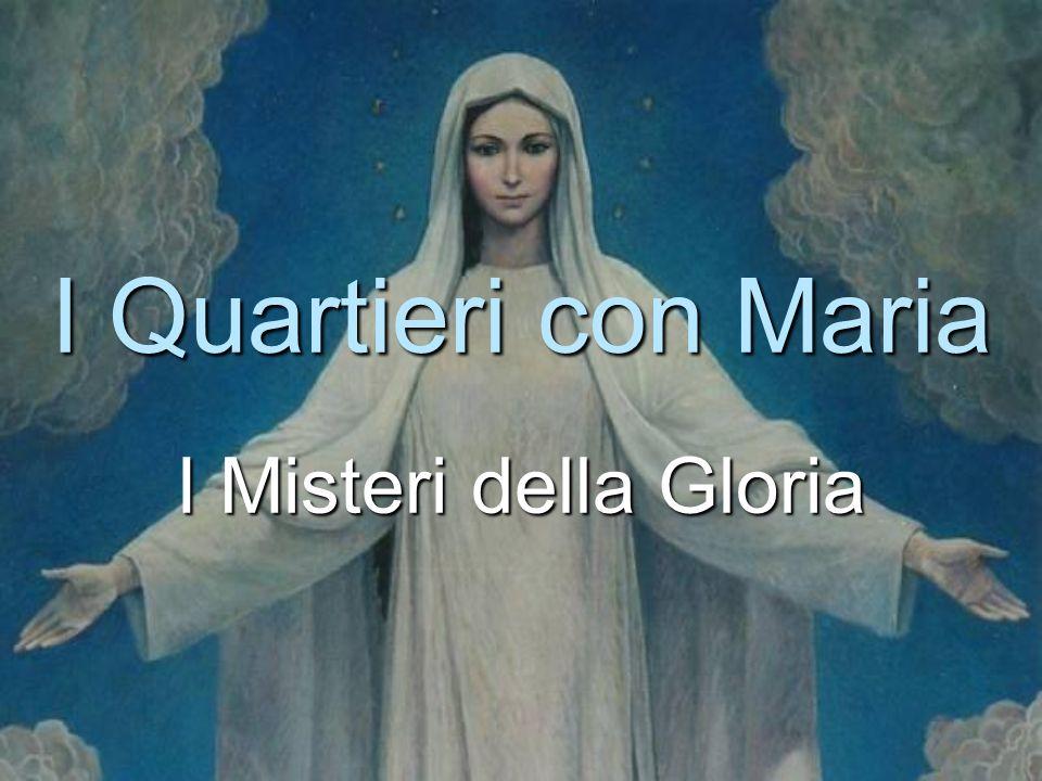 I Quartieri con Maria I Misteri della Gloria