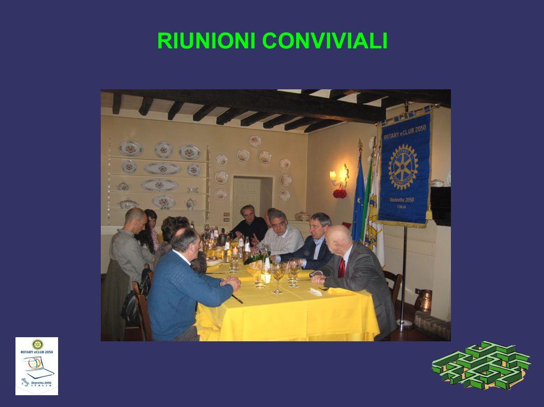 RIUNIONI CONVIVIALI