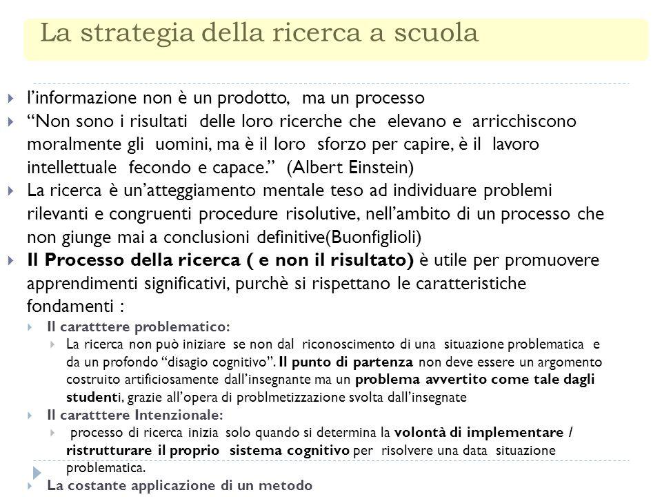 Approccio metodologico: Il Maestro deve fornire un approggio metodologico, ovvero, nel senso etimologico del termine suggerire la via da seguire.