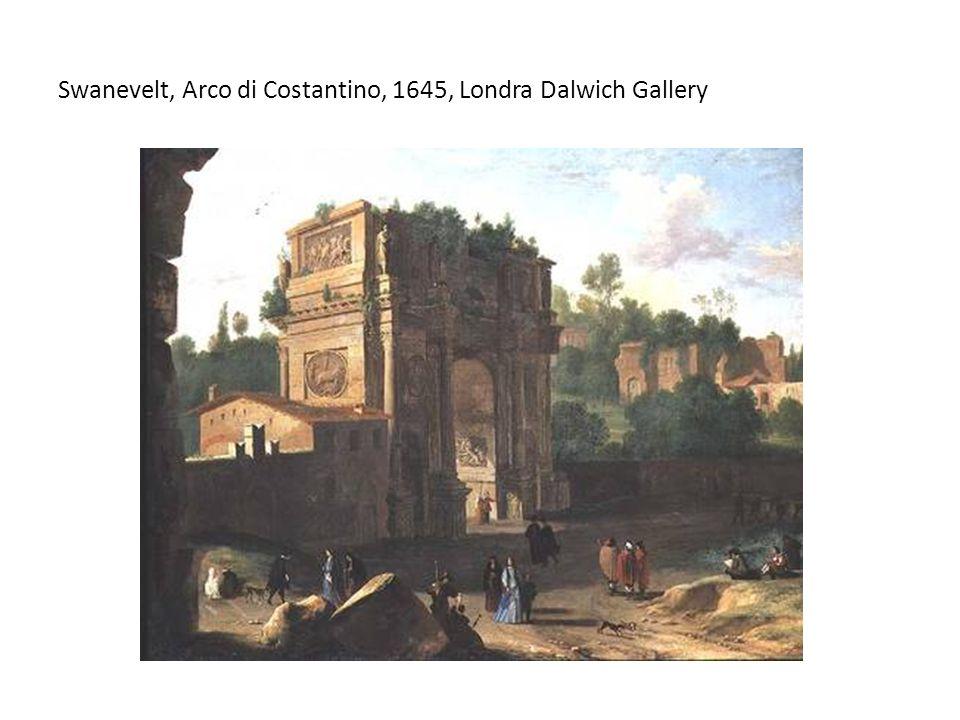 Swanevelt, Arco di Costantino, 1645, Londra Dalwich Gallery