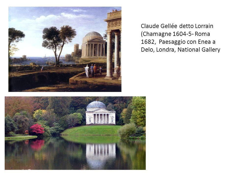 Lorrain, Paesaggio con SantAntonio e la Maddalena, 35-38, Madrid, Prado