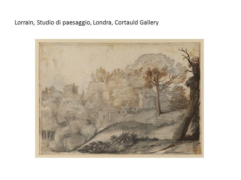 Lorrain, Studio di paesaggio, Londra, Cortauld Gallery