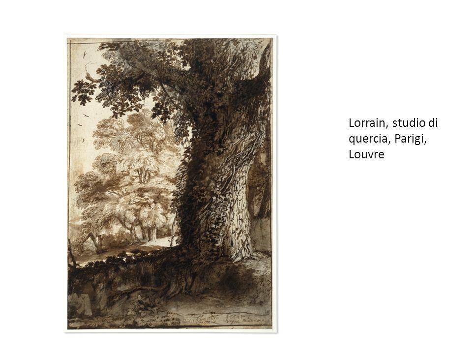 Lorrain, studio di quercia, Parigi, Louvre