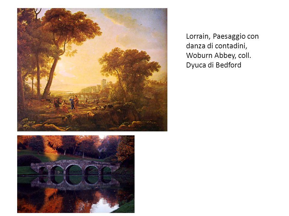 Lorrain, Paesaggio con Apollo con le Muse, Boston, Museum of Fine Arts