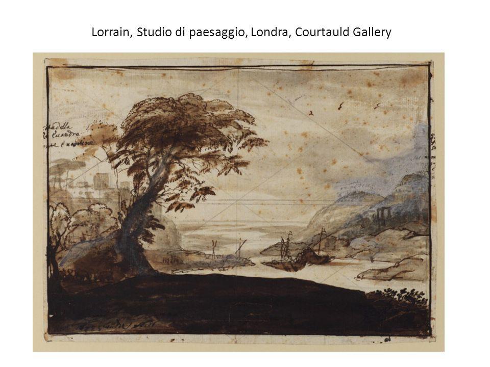Lorrain, Studio di paesaggio, Londra, Courtauld Gallery