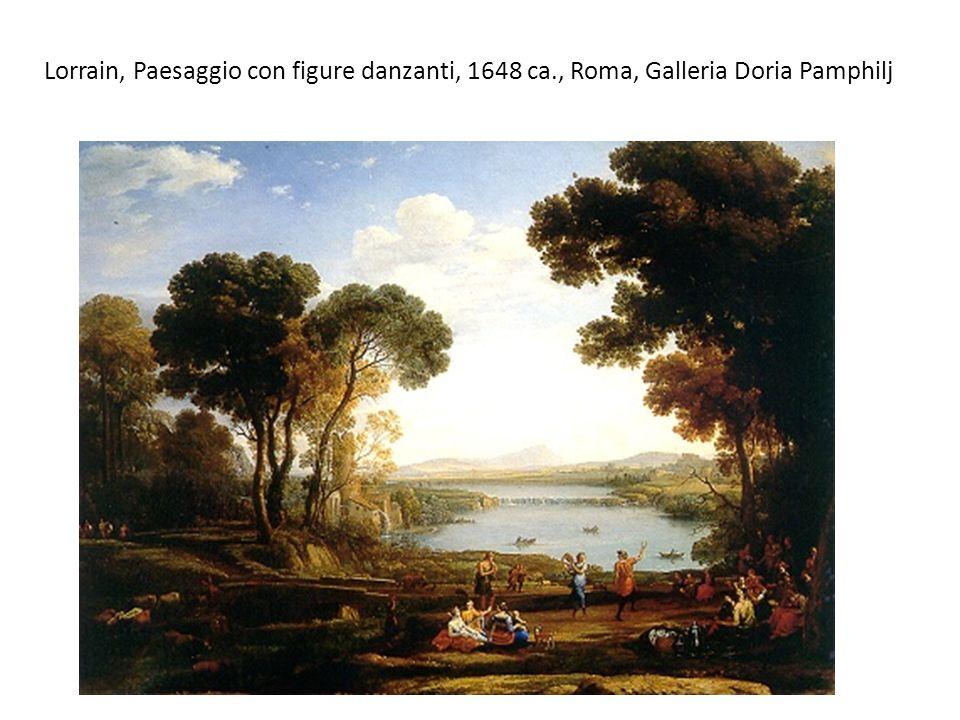 Lorrain, Paesaggio con figure danzanti, 1648 ca., Roma, Galleria Doria Pamphilj