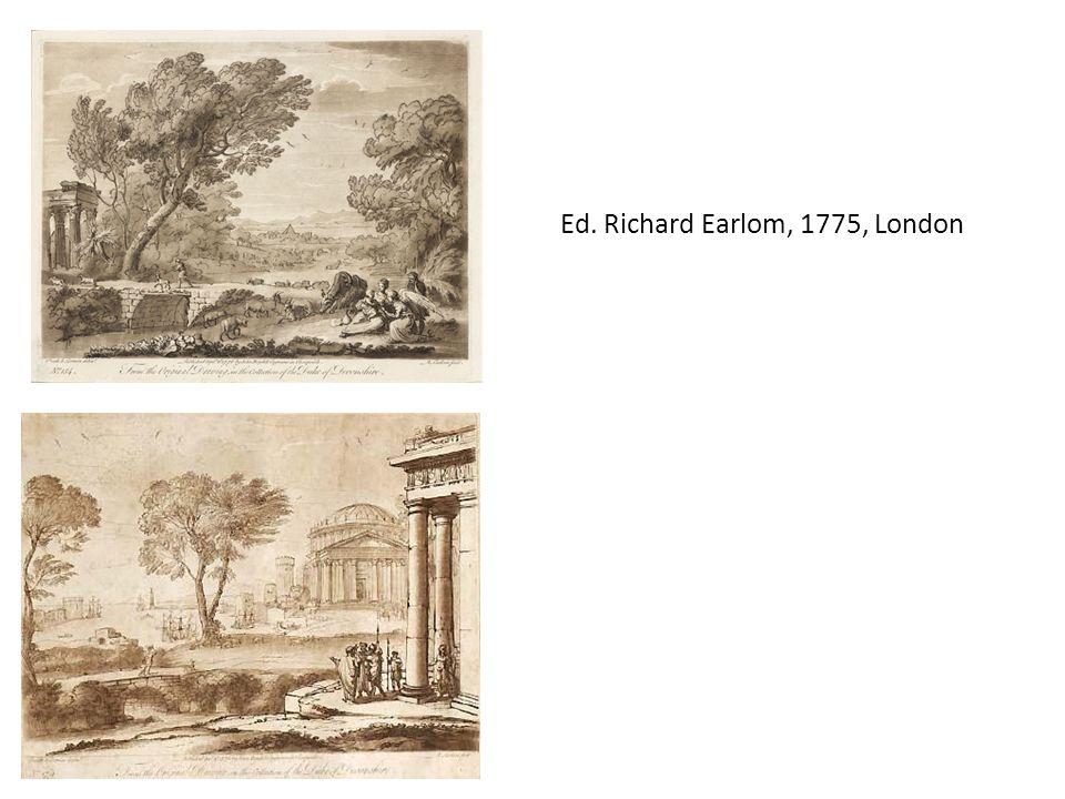 Ed. Richard Earlom, 1775, London