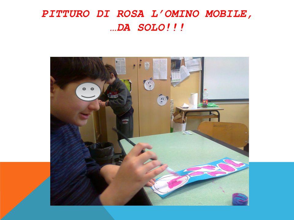 PITTURO DI ROSA LOMINO MOBILE, …DA SOLO!!!