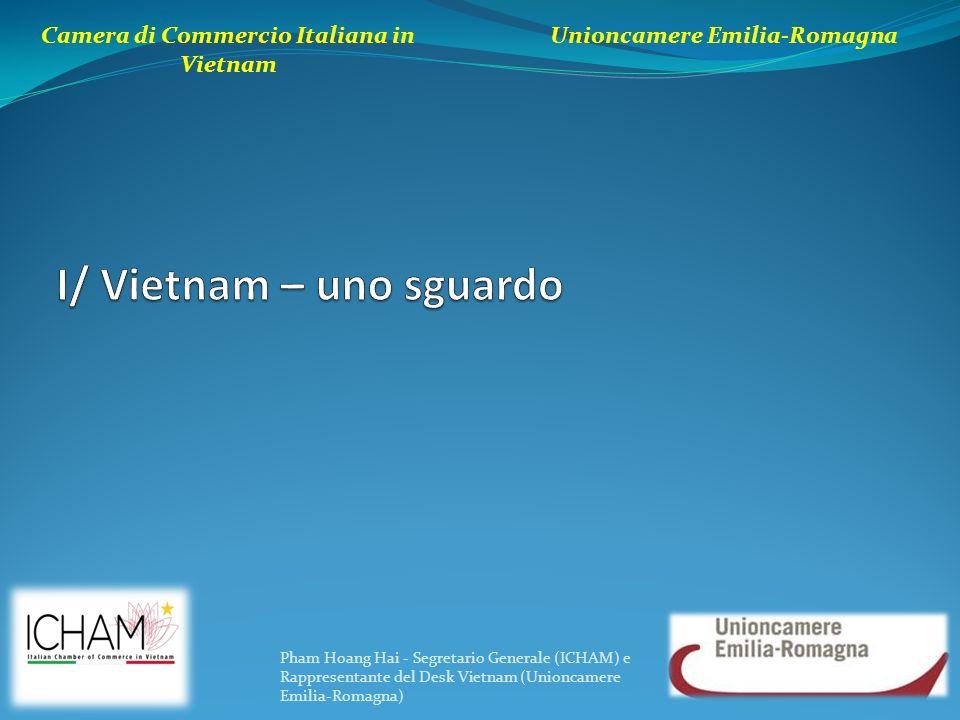 Camera di Commercio Italiana in Vietnam Unioncamere Emilia-Romagna Pham Hoang Hai - Segretario Generale (ICHAM) e Rappresentante del Desk Vietnam (Uni