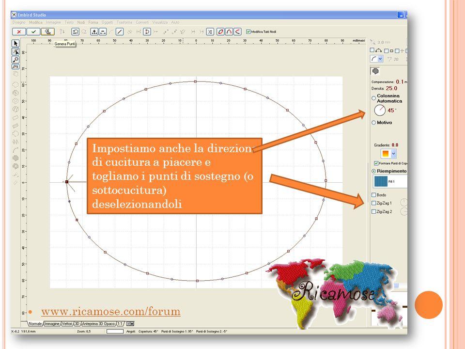 A questo punto andiamo ad inserire il nostro monogramma, selezionando la casella testo o il font engine, digitiamo la lettera desiderata e clicchiamo OK www.ricamose.com/forum
