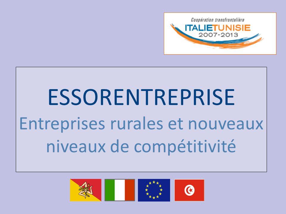 ESSORENTREPRISE Entreprises rurales et nouveaux niveaux de compétitivité