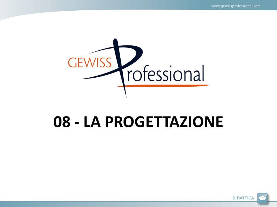 08 - LA PROGETTAZIONE