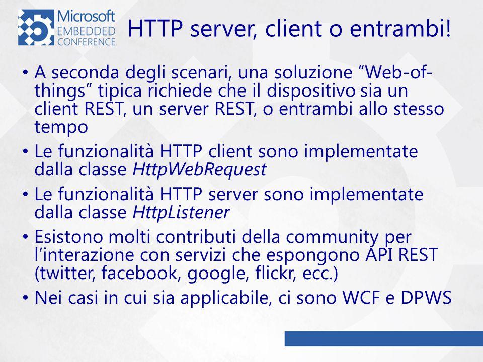 HTTP server, client o entrambi.