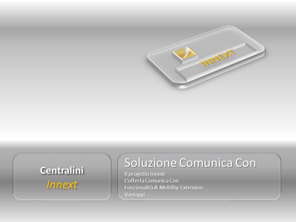 Centralini InnextCentralini Soluzione Comunica Con Il progetto Innext Lofferta Comunica Con Funzionalità & Mobility Extension Vantaggi