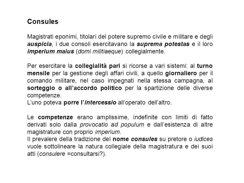 Imperium domi: Ius agendi cum populo et cum patribus: e il connesso potere di iniziativa legislativa (rogatio).