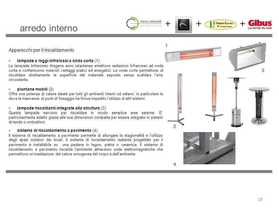 Apparecchi per il riscaldamento lampade a raggi infrarossi a onda corta (1) Le lampade Infrarosso Alogene sono istantanee emettono radiazioni Infraros