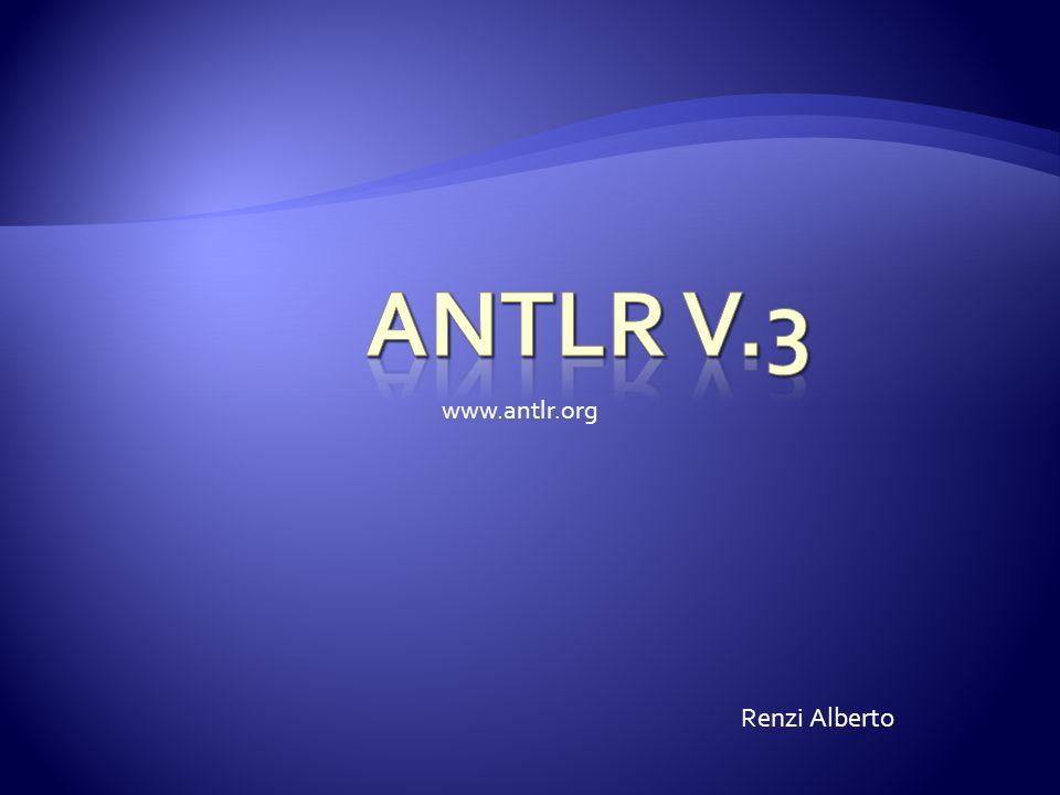 Renzi Alberto www.antlr.org