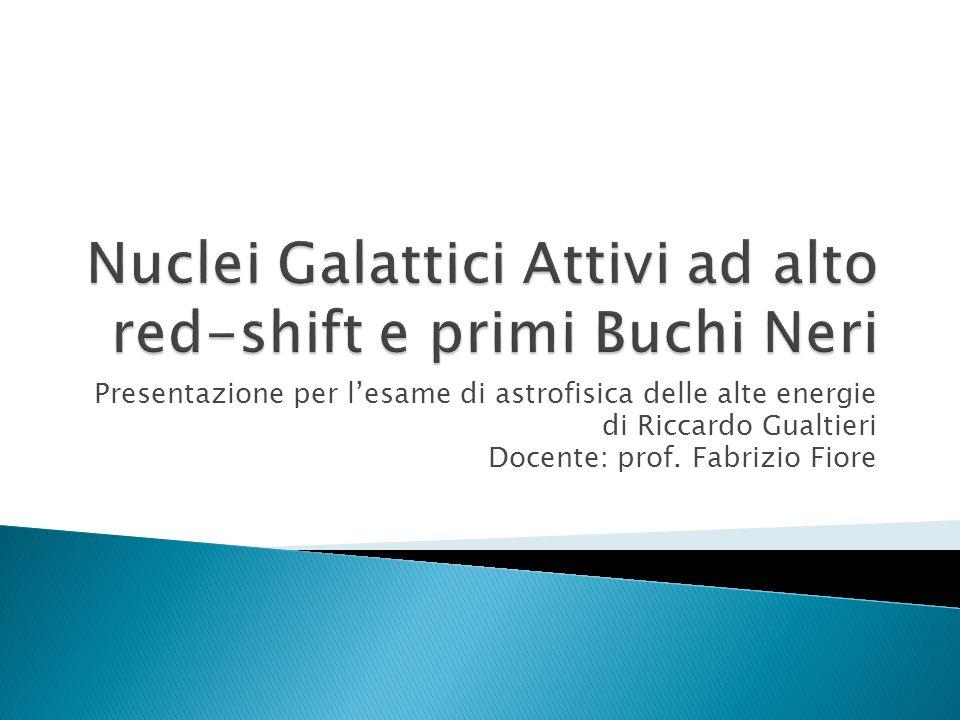 Presentazione per lesame di astrofisica delle alte energie di Riccardo Gualtieri Docente: prof. Fabrizio Fiore
