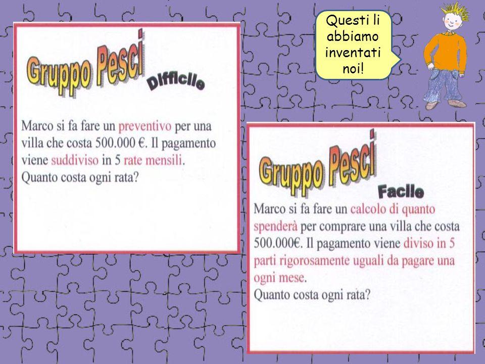 Dopo lultima verifica Molti hanno optato per la tabella per migliorare la risoluzione dei problemi (Alessandro, Jacopo, Luca): il bisogno di mettere ordine è una necessità per tutti!!.