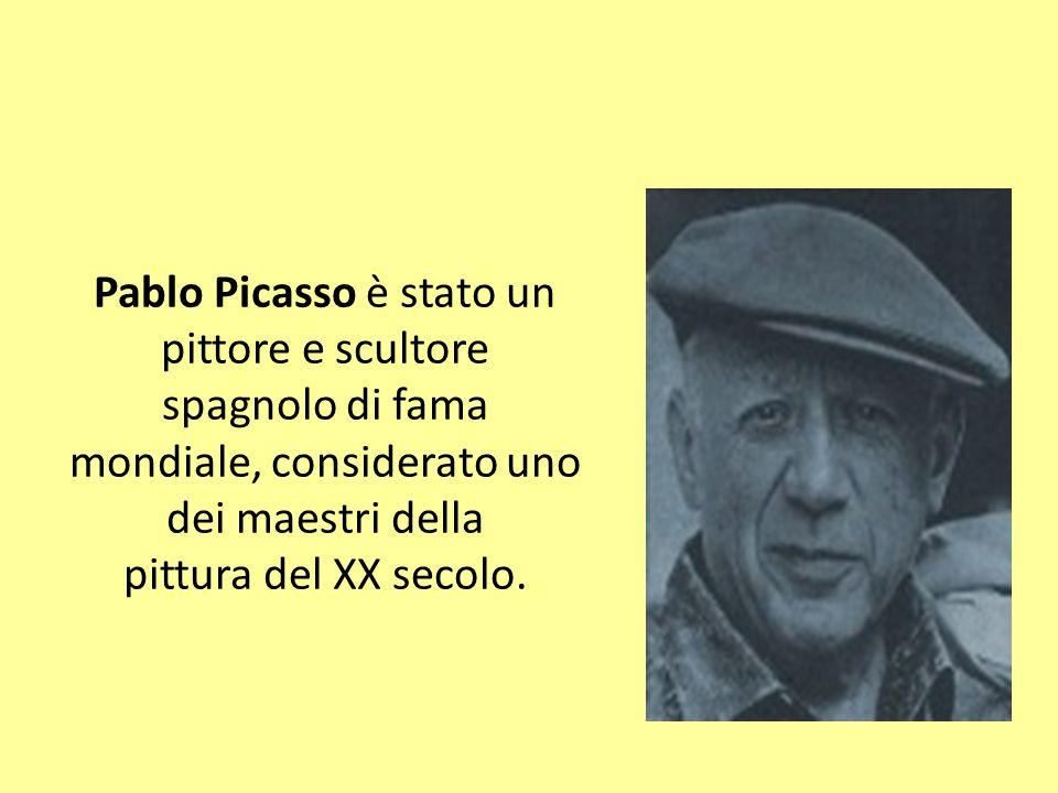 Pablo Picasso è stato un pittore e scultore spagnolo di fama mondiale, considerato uno dei maestri della pittura del XX secolo.