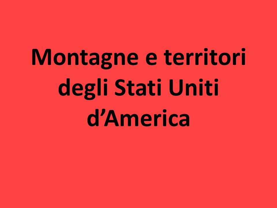 Montagne e territori degli Stati Uniti dAmerica