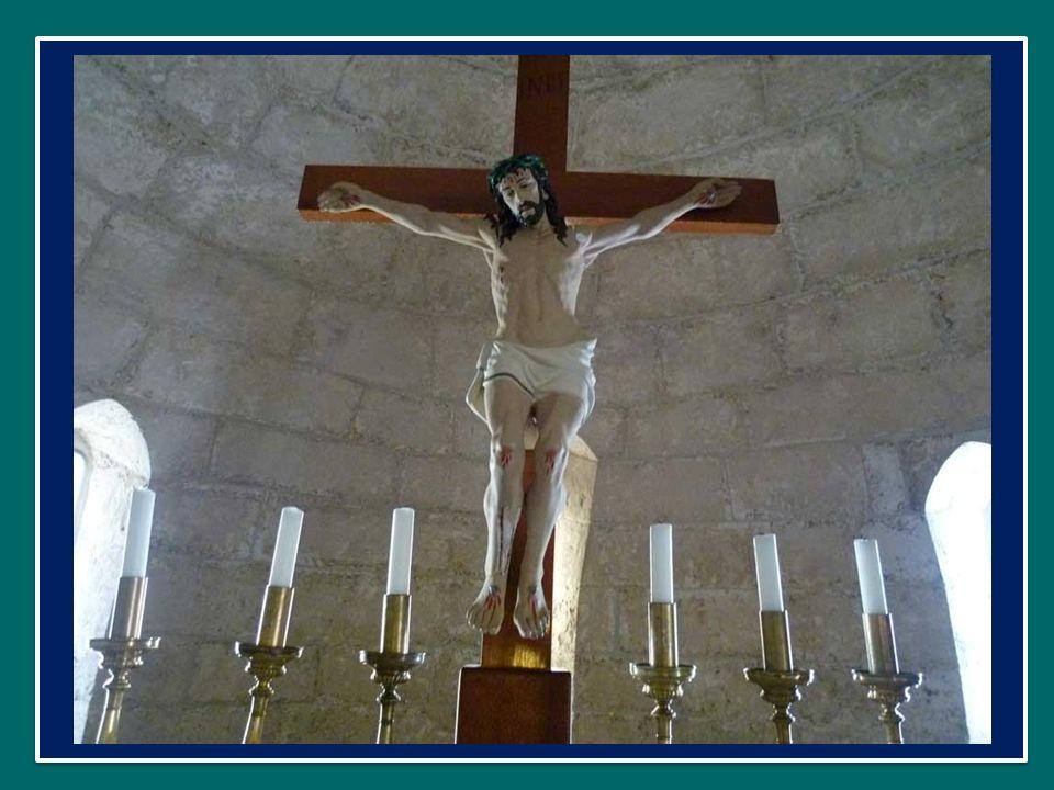 una decisione presa nella sua coscienza, ma non da solo: insieme al Padre, in piena unione con Lui.