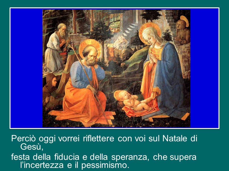 questo nostro incontro si svolge nel clima spirituale dellAvvento, reso ancor più intenso dalla Novena del Santo Natale, che stiamo vivendo in questi