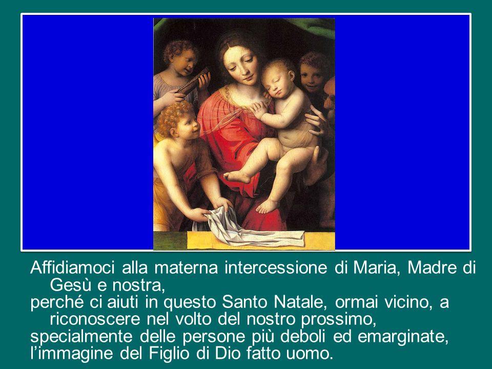 Ce lo ha ricordato lo stesso Gesù: chi avrà nutrito, accolto, visitato, amato uno dei più piccoli e dei più poveri tra gli uomini, avrà fatto ciò al F
