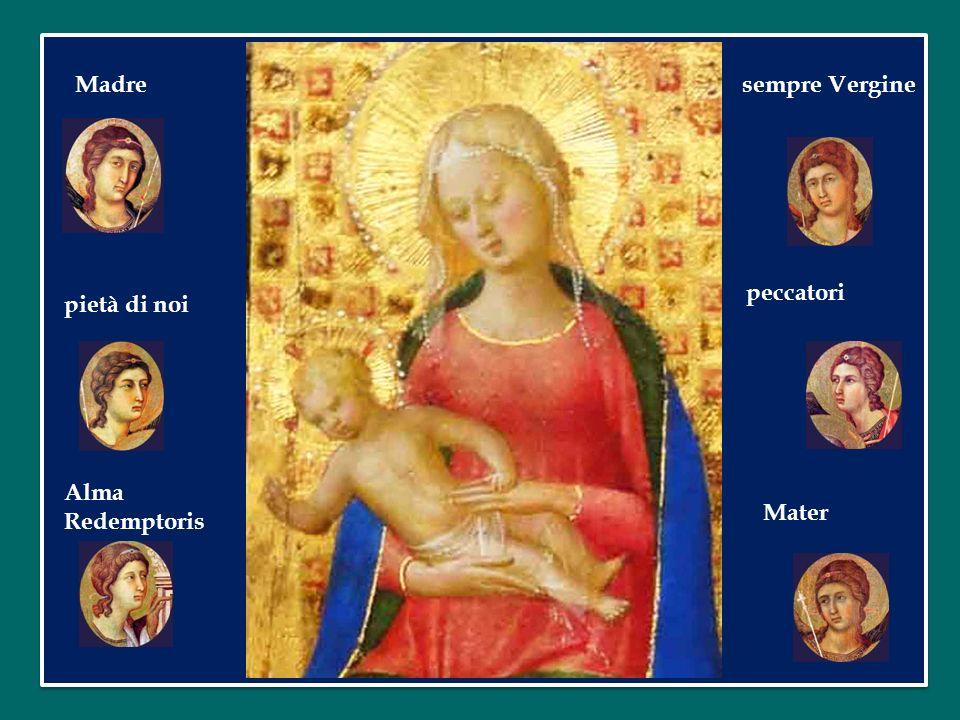 Tu che hai generato nello stupore Tu che accogliendo il tuo Creatore di tutto il creato il saluto dellAngelo