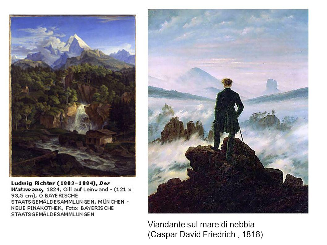 Viandante sul mare di nebbia (Caspar David Friedrich, 1818)