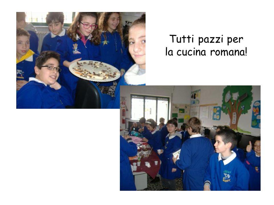 Chi lavrebbe mai detto! Abbiamo mangiato come i romani e ci è anche piaciuto!
